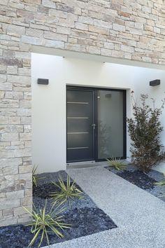Concrete Fence Wall, Porch Wall, Apartment Renovation, Entrance Design, Outdoor Living, Outdoor Decor, Architecture, Home Deco, Ibiza