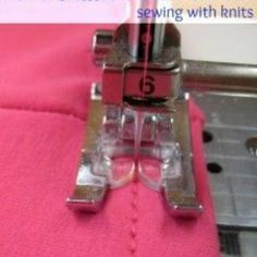 Stretch Stitch Sewing {Sewing Tips}