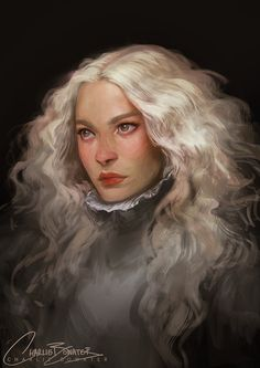 Not so much a portrait, but rather a nod to the beautiful Mia Wasikowska in Crimson Peak. Loved that film! A couple of hours spread over my lunch breaks PS & Cintiq Charlie Bowater Crimson Hair, Crimson Peak, Character Design References, Character Art, Illustrations, Illustration Art, Charlie Bowater, Mia Wasikowska, Collaborative Art