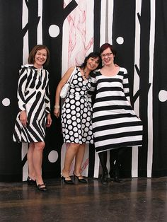"""MARIMEKKO DRESS ASSEMBLY"" by Bettina Airaksinen by bettina.airaksinen, via Flickr"