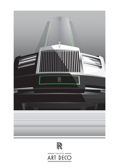 Posters teasing some of the cars from the collection, designed by Rolls-Royce design team