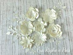 Fra Righe e Pois ... nascono mille idee: Benvenuta PRIMAVERA!  Spring, primavera, flower, fiori, silhouette, cameo