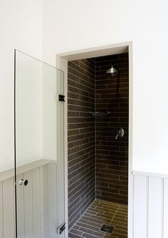 Shower room for main bathroom, convert airing cupboard? Small Shower Room, Small Showers, Downstairs Bathroom, Small Bathroom, Bathroom Ideas, White Bathrooms, Luxury Bathrooms, Master Bathrooms, Dream Bathrooms