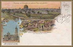 Palestine, Jerusalem, Vintage World Maps, Walls, Europe, Wands, Wall