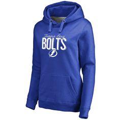 Tampa Bay Lightning Women's Nostalgia Pullover Hoodie - Blue - $54.99
