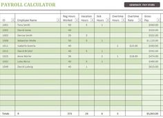 Bank Salary Slip Format Excel Template | Company Templates | Pinterest