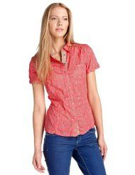 edc by ESPRIT Damen Bluse Regular Fit, kariert 032CC1F009