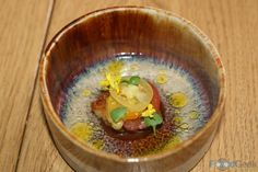 Clams, Mustard Flower, Tomato & Vanilla at Restaurant Story