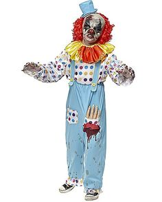 Killer Clown Adult Costume | Pinterest | Costumes Halloween costumes and Scary clown costume  sc 1 st  Pinterest & Killer Clown Adult Costume | Pinterest | Costumes Halloween ...