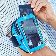 The only armband that has ever stayed on and with no other issues for me. It is so frusterating to have your armband flying off or the volume being turned all the way down while working out. I just need one that fits this phone 😊. (Small, arctic blue) Armpocket Ultra i-35 Armband for phones, keys, ID and more. Fits iPhone 6s/6, Galaxy S7 or S6.