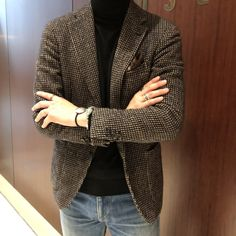 Older Mens Fashion, Mens Fashion Suits, Casual Trends, Men Casual, Ripped Jeans Men, Business Casual Outfits, Casual Street Style, Winter Fashion, Menswear
