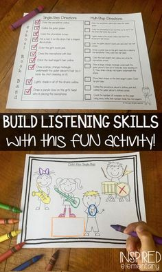 LISTEN AND COLOR teaches students to listen the first time! This INTERACTIVE, weekly activity is DIFFERENTIATED for you, and comes along with pre-colored answer keys (for student assessment). Recording pages are included too, and the data gathered from this activity is very useful at parent conference time!
