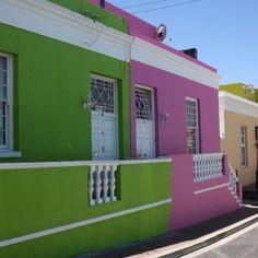 The colourful Bo Kaap neighbourhood, Cape Town #capetown #lovecapetown