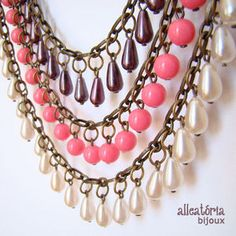 Bijuteria - Colar Glamour - Necklace