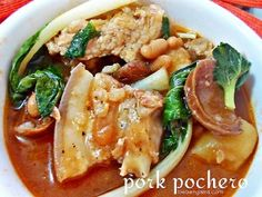 Pork Pochero Filipino Recipe