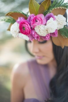 Boho floral bouquet: http://www.stylemepretty.com/colorado-weddings/2014/04/25/winter-bridal-shoot/ | Photography: Shalynne Imaging - http://shalynneimaging.com/