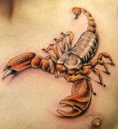 TattooNOW : Tattoos : Gido : Realistic Scorpion Tattoo