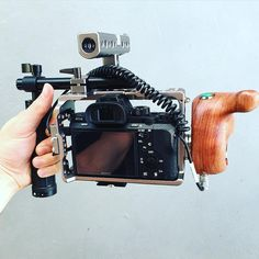 Simple is beautiful Tag a filmmaker Nice light-weight Sony A7SII setup by @endurefilms