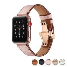 Ladies' 18K rose gold 38mm Apple Edition Watch with quartz
