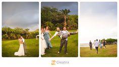 Loulu Palms Wedding    Creatrix Photography #hawaii #destinationwedding #sunshine #happy #rainbow #rain