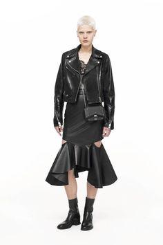 Givenchy cutout mermaid skirt fall winter 2016-2017