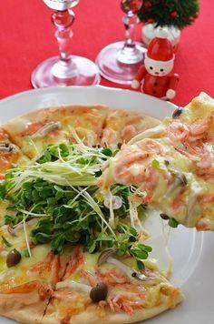 市販のピザ生地で桜海老の和風ピザ by 調理師/料理家 槙 かおる ...