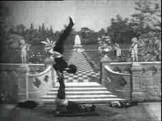 "In one of the earliest films ever made, Thomas Edison captured Japanese acrobats in 1904 performing what is essentially the ""Risley Act"" named after circus impresario Professor (Richard) Risley."