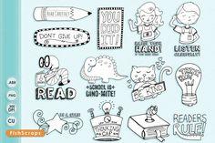 School Rules - Teacher ClipArt by FishScraps on @creativemarket