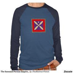 The Sassanid Persian Empire Flag Shirts