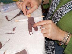 Spun Cotton Ornaments | Learning to Make Spun Cotton Ornaments | Spun Cotton Ornament Journal