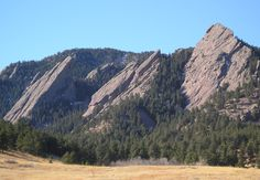 Flatirons, Boulder, Colorado