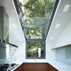 Recessed Ceiling, Glass Ceiling, Floor To Ceiling Windows, Cinema Room, Buying A New Home, Glass Kitchen, Ceiling Design, Downlights, Skylight