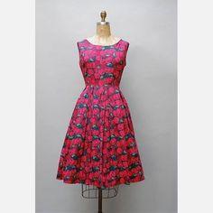 '50s Cherry Print Dress now featured on Fab.