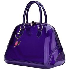 Pre-owned Sapsucker Jelly Shell Deep Deep Purple Satchel (11.930 RUB) ❤ liked on Polyvore featuring bags, handbags, deep purple, retro handbags, jelly handbags, purple handbags, hand bags and shell purse