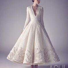 Stunning us with their #haute designs is @ashistudio .