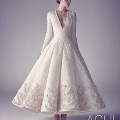 Stunning us with their #haute designs is @ashistudio .