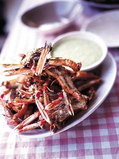 Barbecued Langoustines   Seafood Recipes   Jamie Oliver