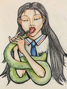 """""""Yaju"""" Dibujo tradicional a lápices y micropen"""