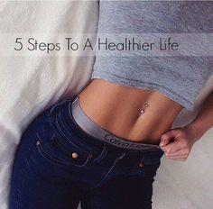 Mystery Girl: 5 Passos Para Uma Vida Mais Saudável