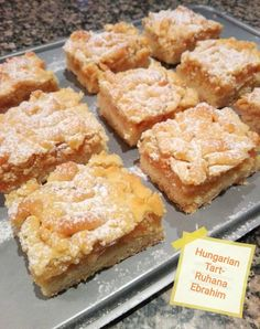 Hungarian Tarts recipe by Ruhana Ebrahim posted on 06 Dec 2017 . Recipe has a rating of by 1 members and the recipe belongs in the Biscuits & Pastries recipes category Pastry Recipes, Tart Recipes, My Recipes, Baking Recipes, Favorite Recipes, Baking Ideas, Bread Recipes, Easy Desserts, Delicious Desserts