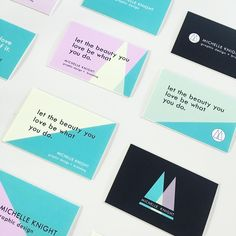 For this post I would like to share some awesome business cards and brand identity composition examples printed by our good friends at MOO