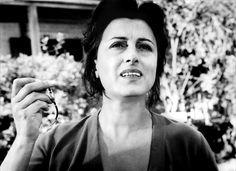 """Anna Magnani as Serafina Delle Rose in """"The Rose Tattoo"""" by Daniel Mann based on the play by Tennessee Williams"""