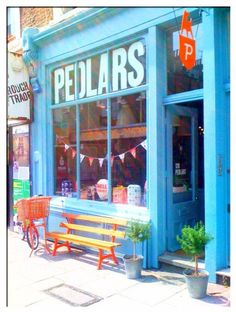 pedlars - shop front
