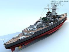German Pocket Battleship Admiral Graf Spee as seen December 1939 in Montevideo