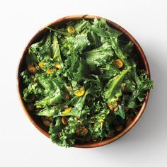 Hearty Greens with Kumquats and Granny Smith Apple Cider Vinaigrette