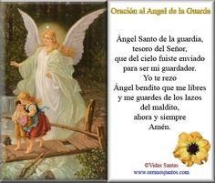 Rincón de la Oración: Estampas Oraciones del Ángel de la Guarda