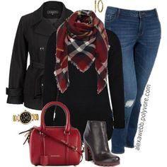 A fashion look from February 2015 featuring Old Navy jeans, Sam Edelman ankle booties and Burberry shoulder bags. Browse and shop related looks.