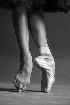 The Wonderful World of Dance Eleonora Sevenard's feet. Photo by Darian Volkova.