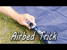 Awesome! How to Inflate an Airbed Without a Pump! | Cute Puppy Love