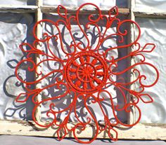 rod iron outdoor decor - Google Search--- LOVE this... I really need some for the back of the house!